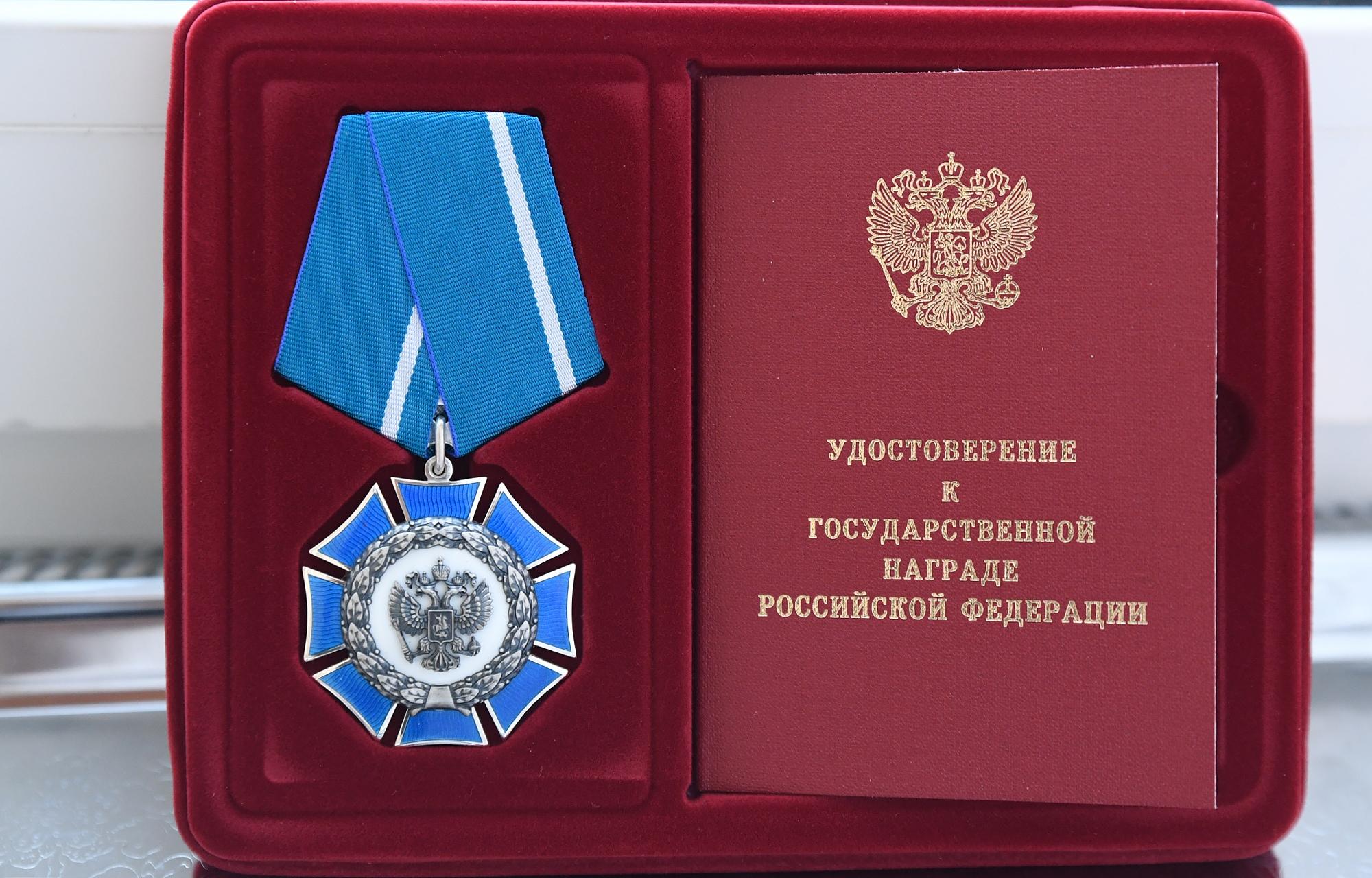 Игорь Руденя вручил орден Почета участнику Великой Отечественной войны Николаю Макаровичу Черных