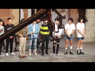"[VIDEO] 180109 INFINITE Dongwoo, Woohyun, Sungjong filming for ""Comedy Big League"""