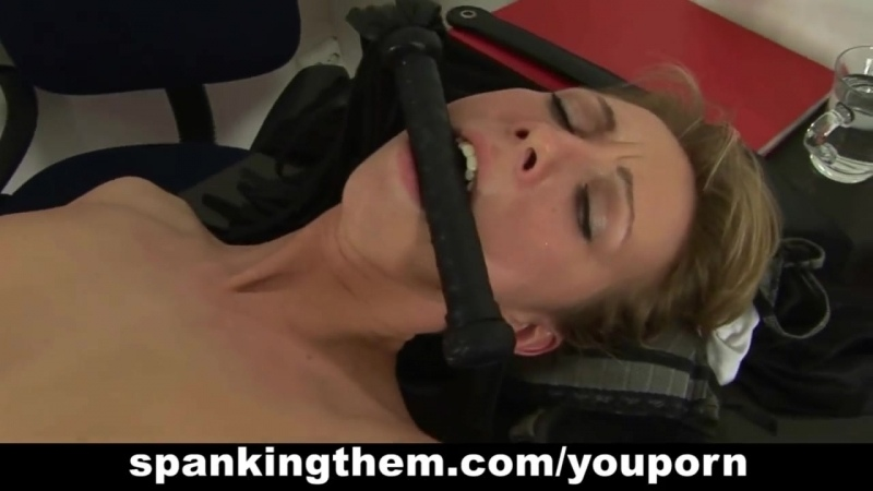 Nettlegagged spanked and rough groupbdsmfucked and humiliated