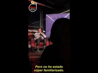 [Sub Español] 180109 ¡Fall Out Boy habla sobre la colaboración con RM de BTS!