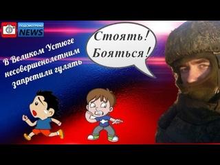 Подсмотрено NEWS/Несовершеннолетних посадили под арест.Великий Устюг.