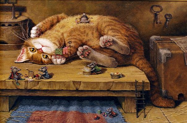 Кот и мыши: притча