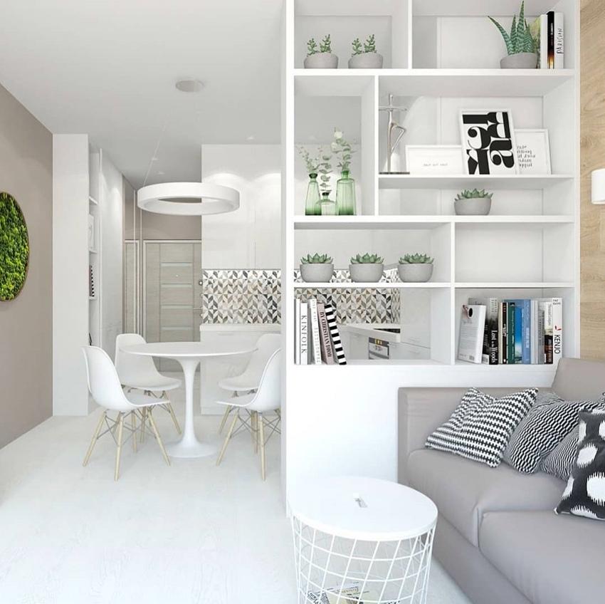 Проект квартиры-студии 26 кв.