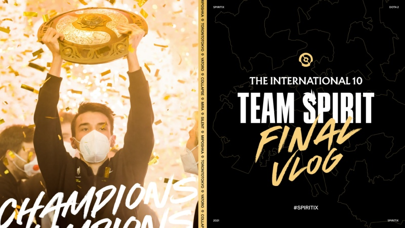 TEAM SPIRIT THE INTERNATIONAL 10 ФИНАЛ