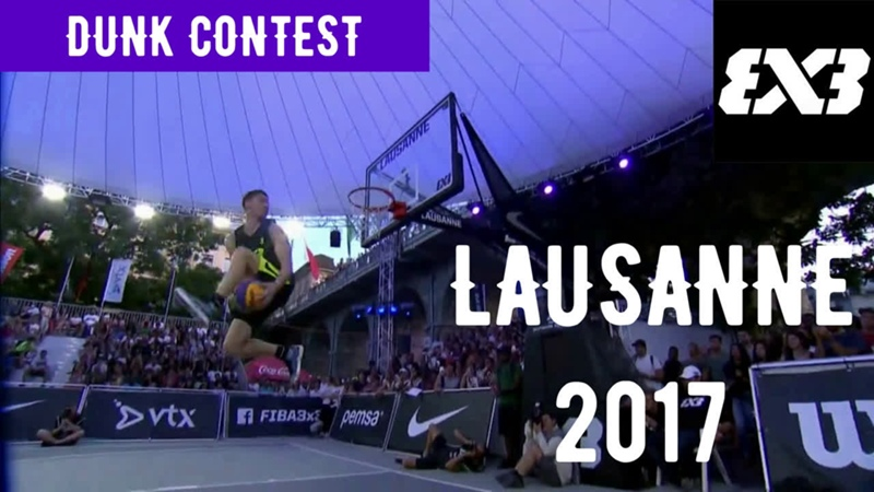 Dunk Contest Lausanne 2017 (Detro)