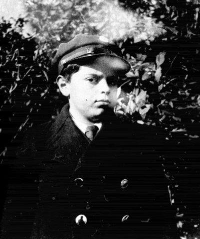 Станислав Лем в школьной форме, 1934