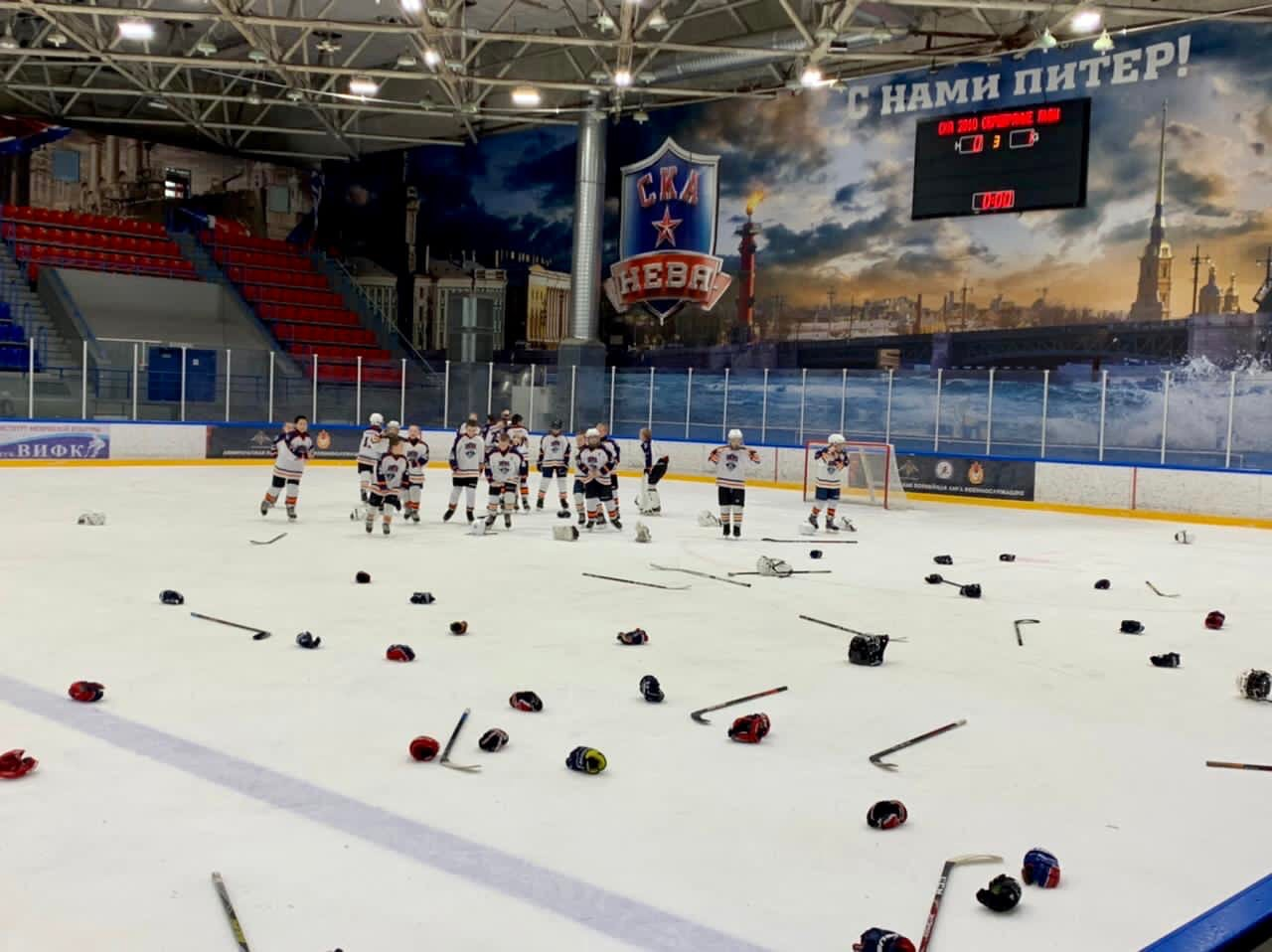 СКА-Серебряные Львы 2010 закончили сезон на мажорной ноте!