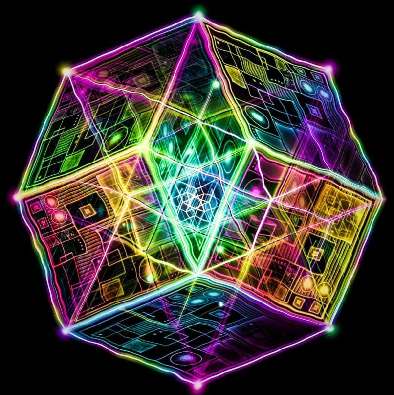 Пятимерные голографические кубики.