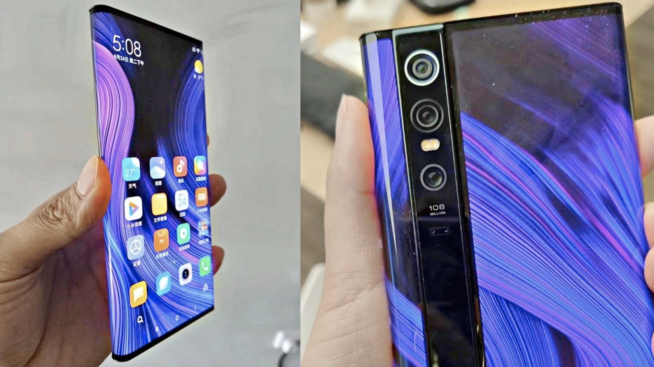 Смартфон Xiaomi Mix Alpha цена не оставит равнодушным