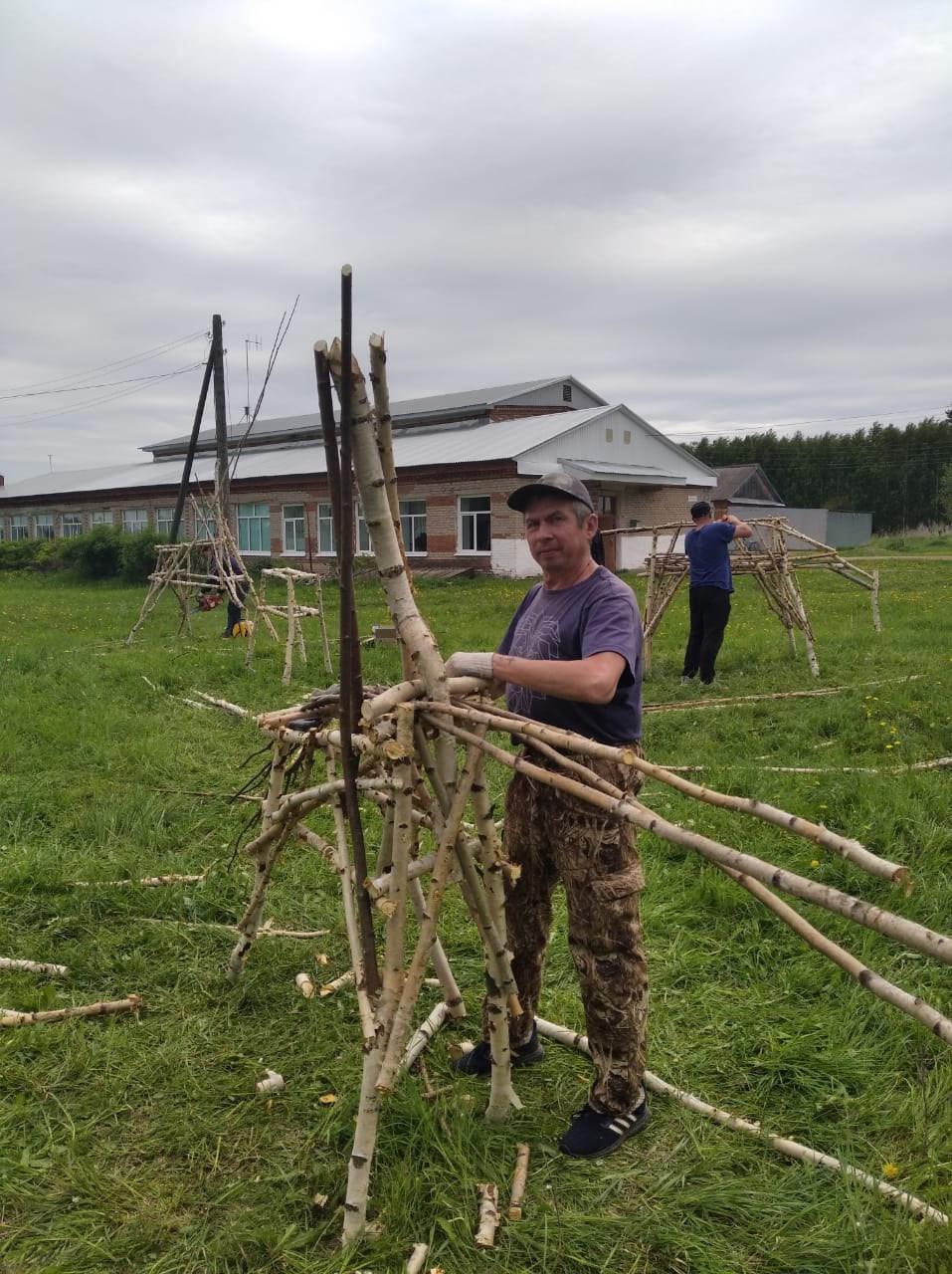 В селе Поршур Можгинского района при поддержке