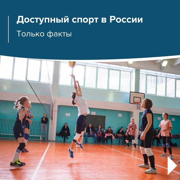 Сделать спорт доступным – реально! Вот факты  