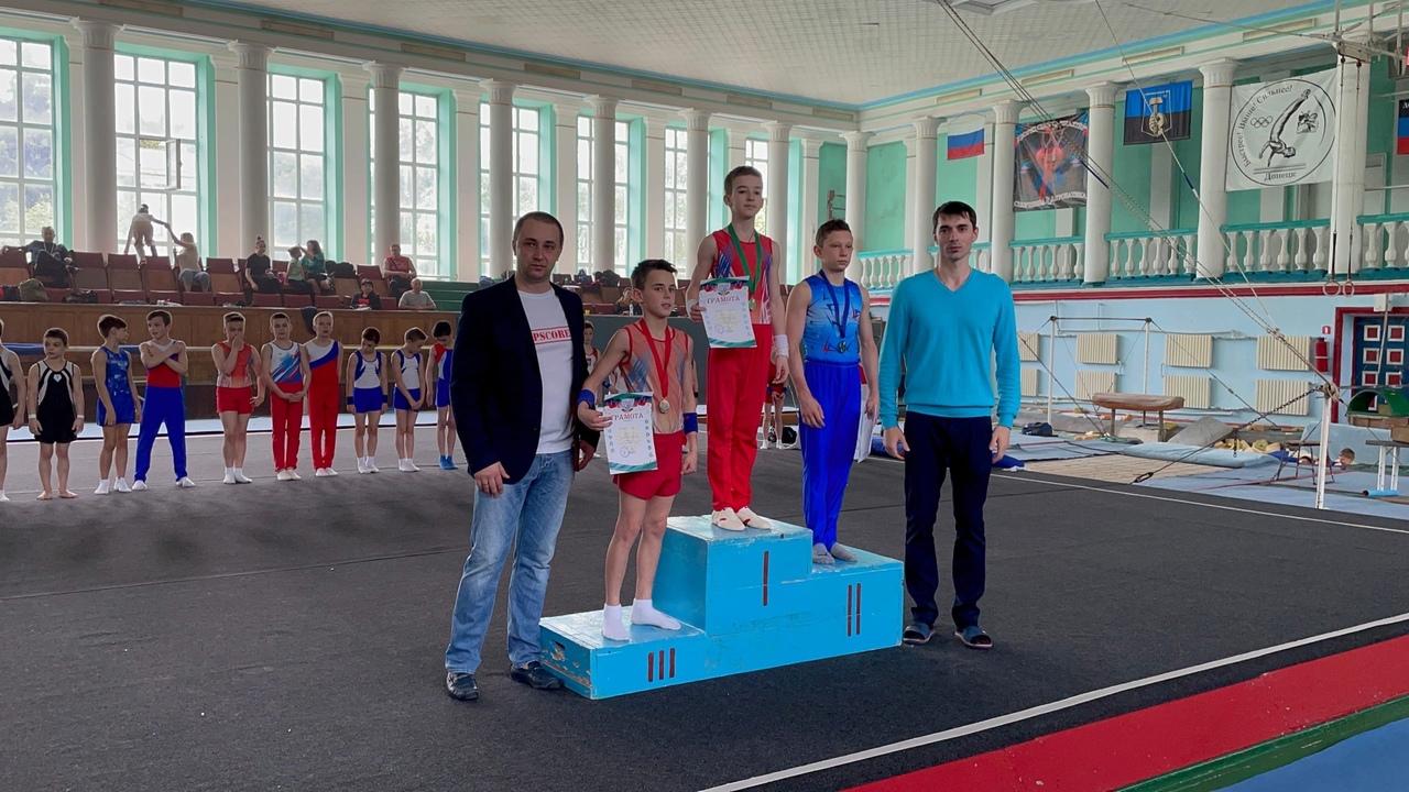 Спортсмены города Донецка стали победителями и призёрами республиканских соревнований по спортивной гимнастике