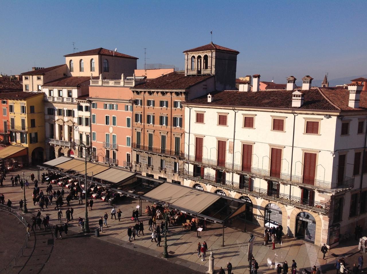 Римский амфитеатр в Вероне - место, где творилась история