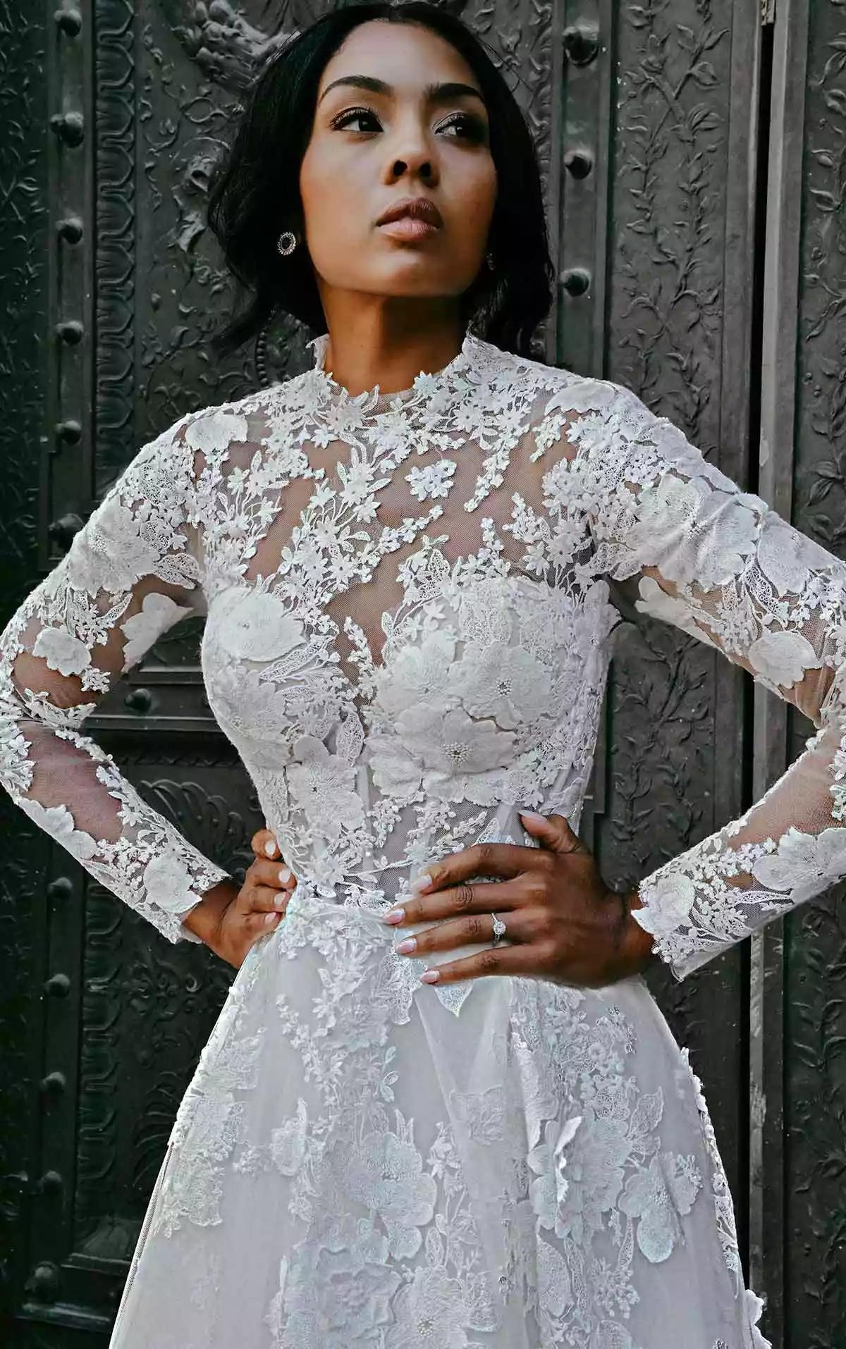 t2MJcBkGHRo - 21 романтическое платье для невесты в 2021 свадебном сезоне