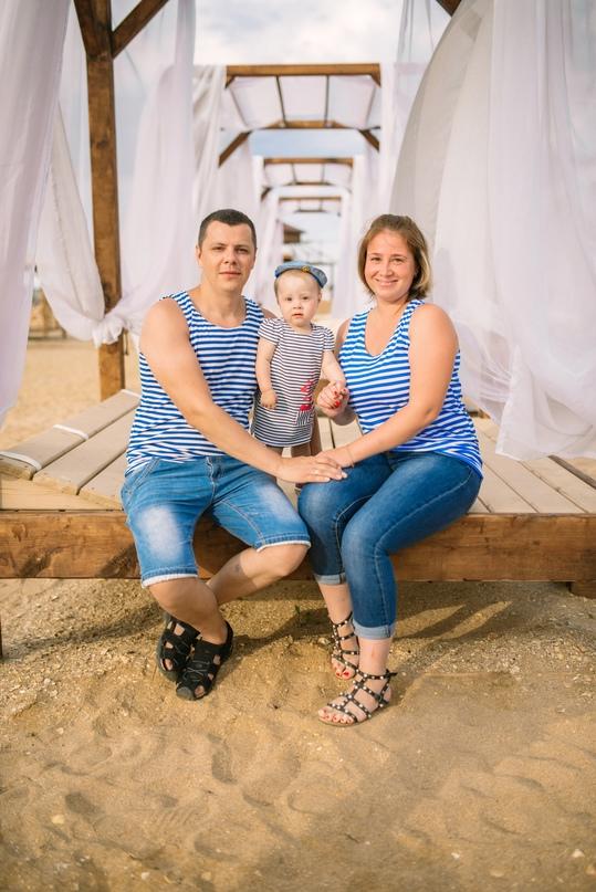 Семейная фотосессия на море - Фотограф MaryVish.ru