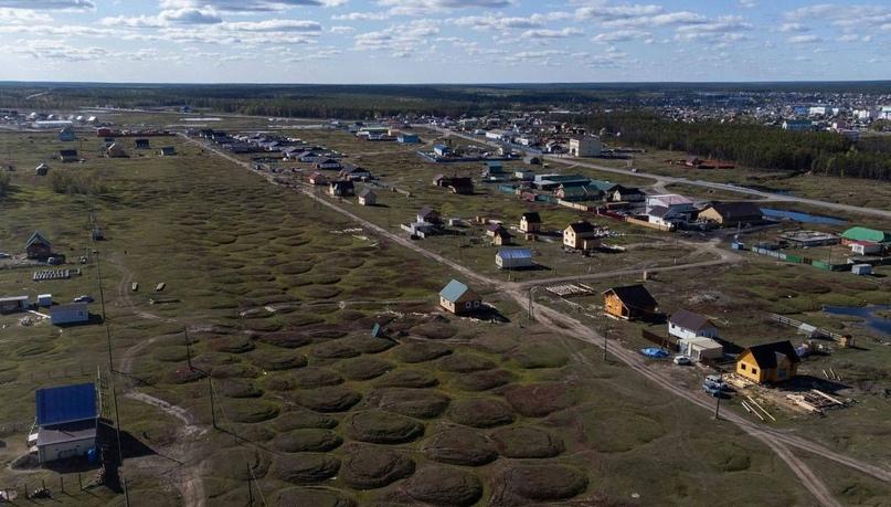 Таяние вечной мерзлоты в отдаленных районах России угрожает домам и инфраструктуре