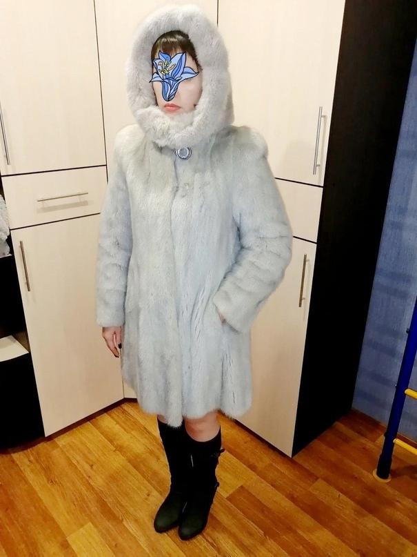 Шуба, голубая норка   Объявления Орска и Новотроицка №23613