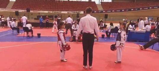 """Тренер по ТХЭКВОНДО on Instagram: """"MINSK CUP🏆  Удары в голову в исполнении моих воспитанников🥋Моменты.."""