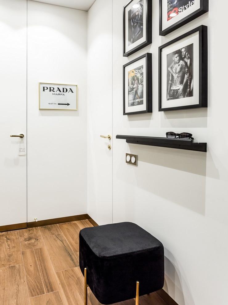 Дизайн квартиры-студии 28 м в Москве.