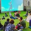 Кино на Даче   Уличный кинотеатр   Севастополь
