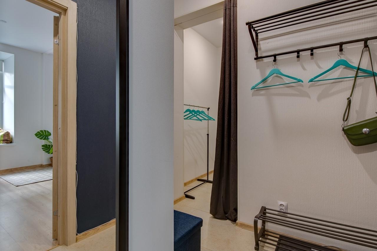 Интерьер квартиры 35 м для сдачи в аренду в Санкт-Петербурге.