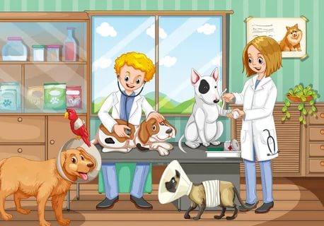 Купировать хвост собаке цена Красногорск