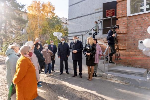 В Юго-западном районе Сызрани открылся обновленный Филиал...