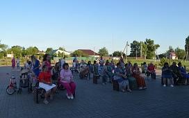 Комфортное сельское пространство – в Кузьминских Отвержках