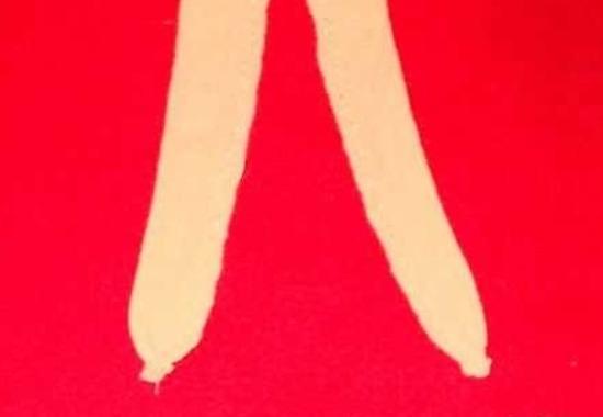 Как сделать колготки для куклы Барби своими руками,