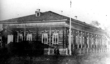 Здание театра. 1908 г. Фонды ЧИКМ.