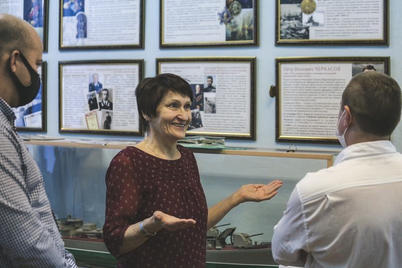 Сотрудники Кинокомпании «Союз Маринс Групп» посетили Музей речного флота, изображение №4