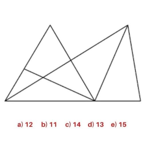 Сколько на картинке треугольников?