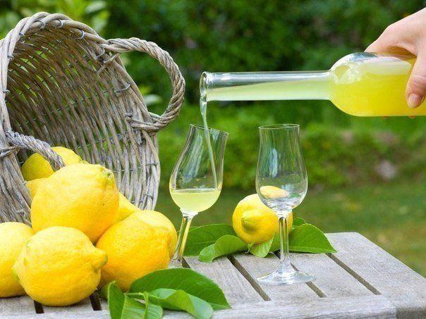 Лимонный ликер - Limoncello