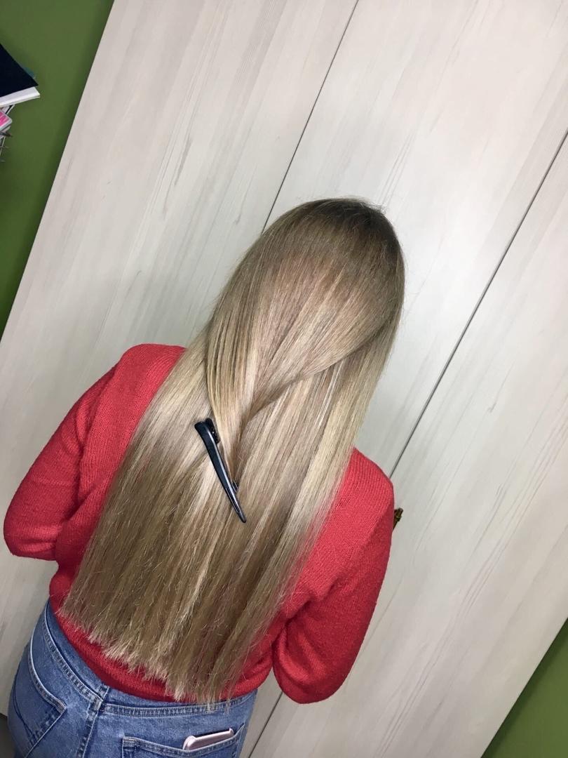 Fresh hair