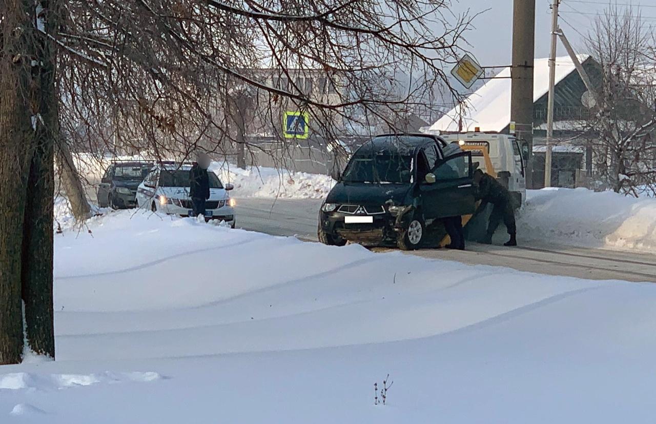 ДТП на ул. Орлова (18.01.2021)