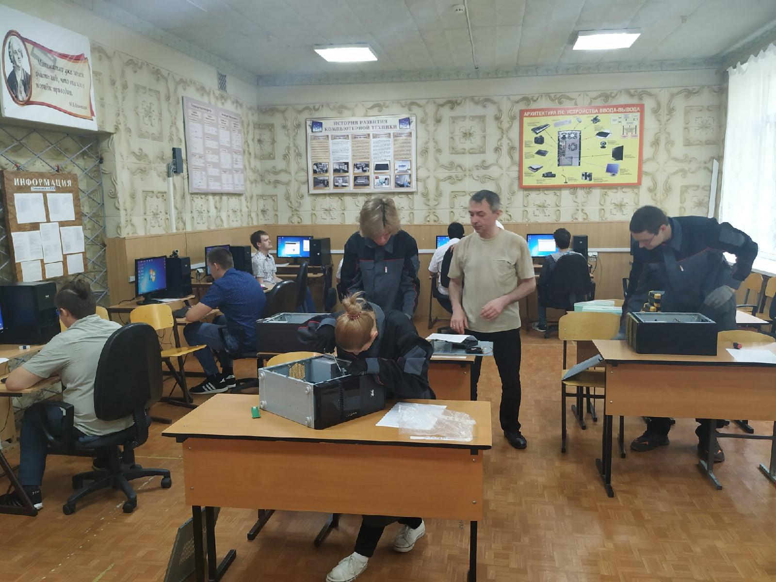 Первый день защиты выпускной квалификационной работы на отделении РЦПО