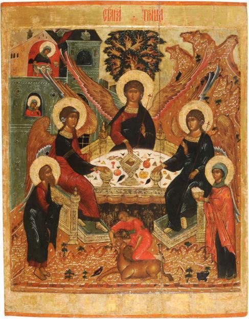 20 июня православный мир празднует День Святой Троицы (Пятидесятницы).