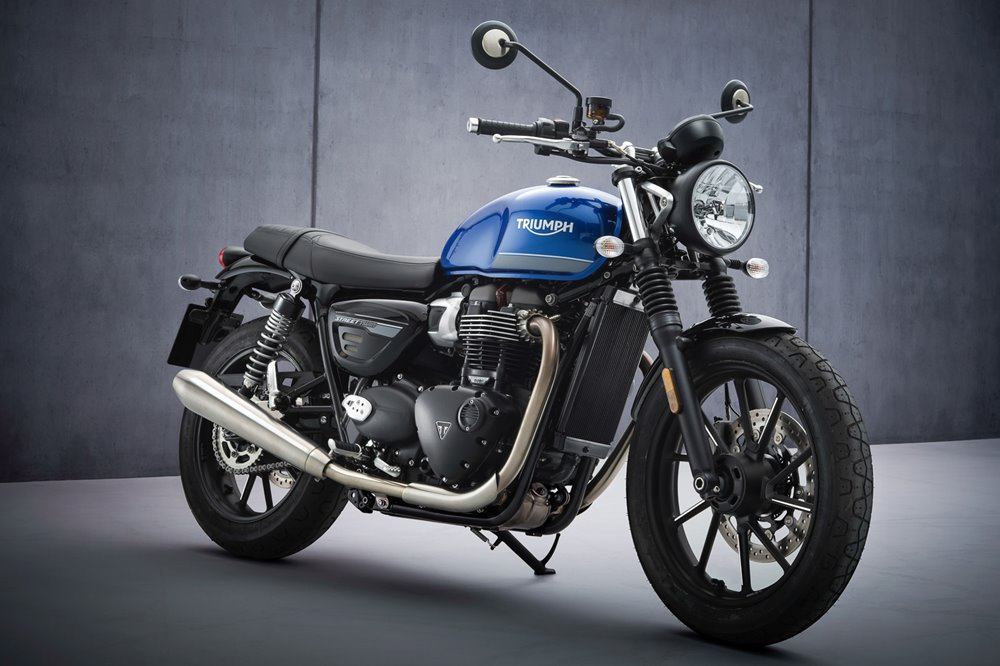Мотоцикл Triumph Street Twin 2021