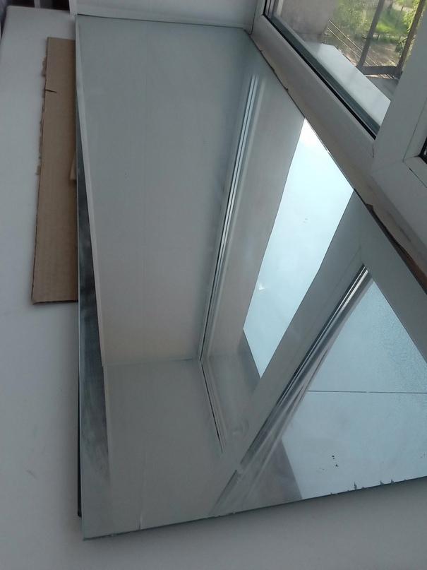 Зеркало 110*40 Есть небольшой дефект, | Объявления Орска и Новотроицка №28150