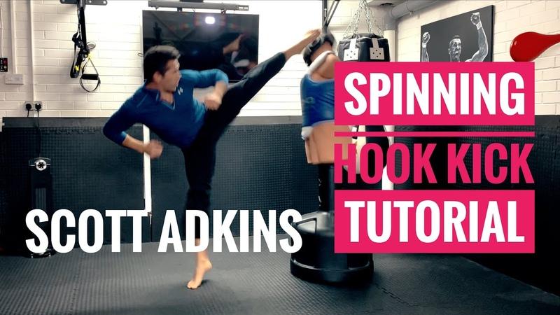 Scott Adkins Spinning Hook Kick Tutorial