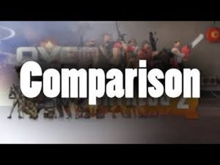 Overwatch  TF2 Comparison (Mister Caption Mirror Re-Upload)