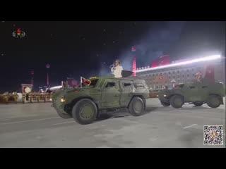 2020 조선로동당창건 75돐 경축대회 및 군중시위 - DPRK Military Parade Marks Anniversary of WPK [HD] [NO COMMENTARY]