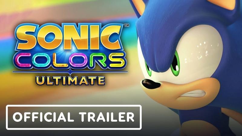 Sonic Colors Ultimate Официальный трейлер Выход на PC