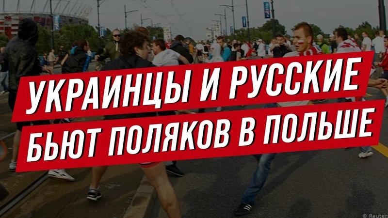 Украинцы и русские бьют поляков Драки и грабежи в Польше Нюансы жизни в Польше