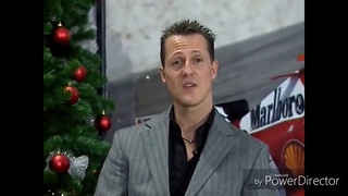 Michael Schumacher wishes Merry Christmas and Happy New Year!