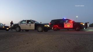 Stolen LAPD Cruiser Pursuit Ends With Arrest   Irvine, CA