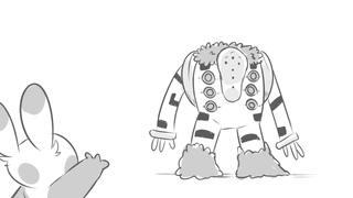 Regigigas is a baby boi   Pokemon Animatic
