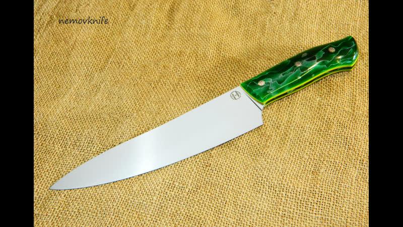 Нож Шеф ст ELMAX рук ALUME WAVES от RAFFIR™