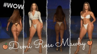Demi Rose Mawby oh Polly fashion show at Miami swim week