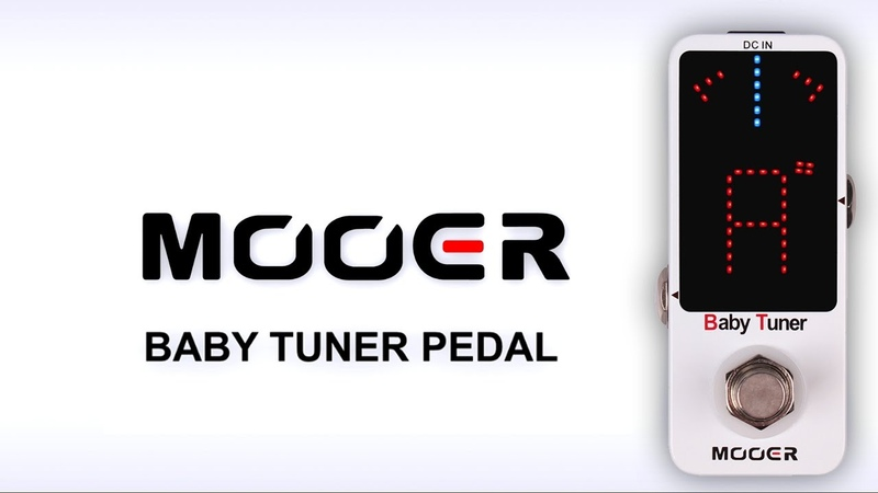 Mooer Baby Tuner Micro Pedal Demo
